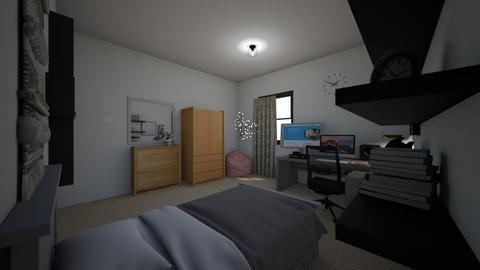 My room - Bedroom  - by Edwin Kofi