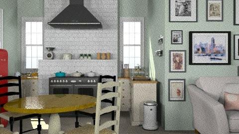 kitchen farm - Country - Kitchen  - by Maria_Julia