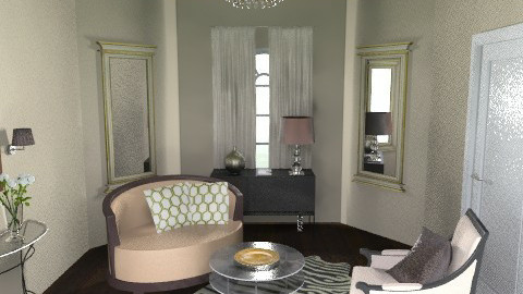 sitting room - Glamour - Living room  - by crystal aston