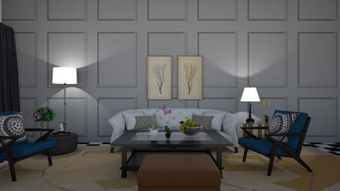 Art deco comp_greekgirl37 - Vintage - Living room  - by greekgirl37