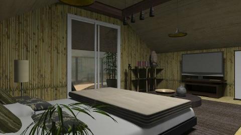zen - Minimal - Bedroom  - by chania