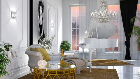 In Memoriam - Glamour - Living room  - by Claudia Correia
