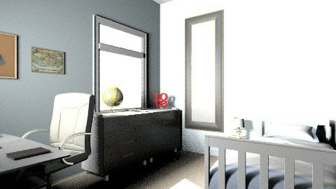 My bedroom - Bedroom - by sassleberry
