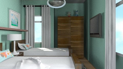 Sharminet Kids/Guest Room - Eclectic - Kids room  - by channing4