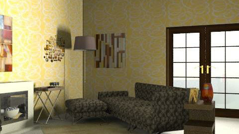 living room - Retro - Living room  - by Glendyx