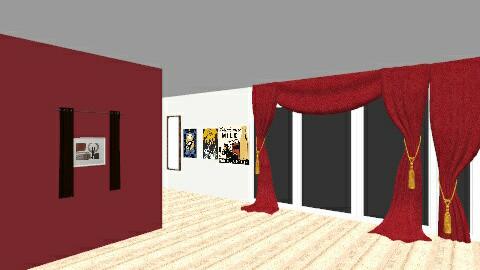 Contemporary - Retro - Bedroom  - by Reney
