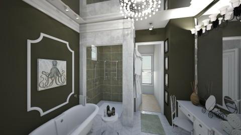 Villa N - Modern - Bathroom  - by NikolinaB26