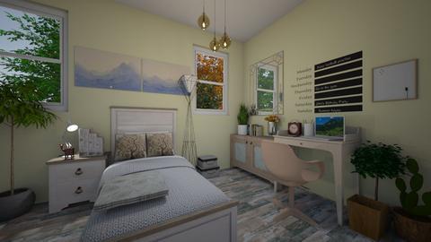 guest bedroom 23 - Bedroom - by GeGe Kanthip