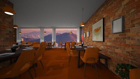 The Orange Orchard - Dining room  - by SammyJPili
