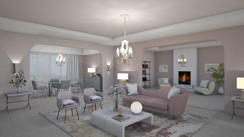 Matilda's Blurry Livingroom - by Matilda de Dappere