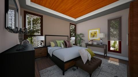 Masterbedroom V5 - Vintage - Bedroom  - by Ejad Shukri