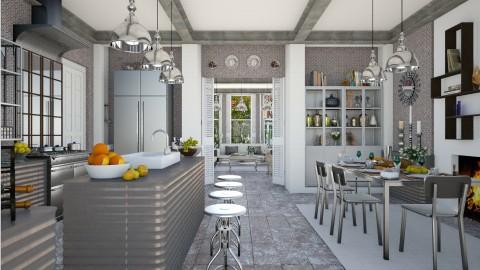 Design 198 Classic Dutch House Kitchen - Kitchen  - by Daisy320