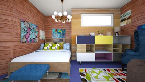 Maximum bedroom - Bedroom - by gefenkl