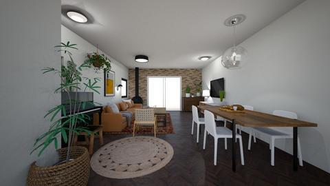 Limor Weissbard 23 - Living room  - by erlichroni