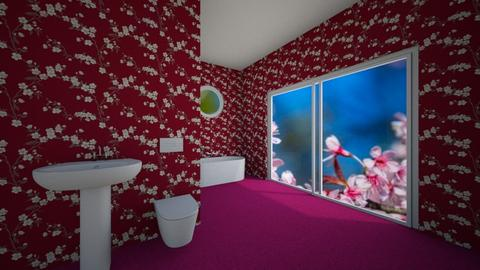 Cherry Blossom Bathroom - Bathroom  - by palomino123
