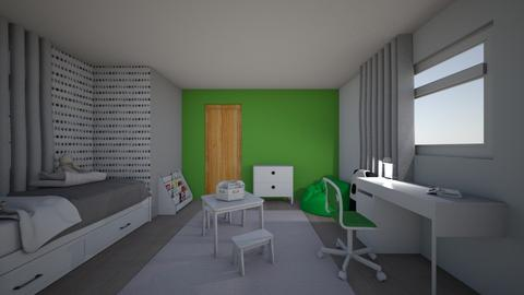 kid room green - Kids room  - by Mmartyna