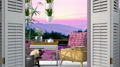 tiny balcony a - Garden  - by Missykittens