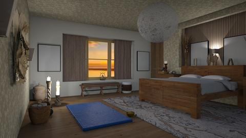 Evening yoga - Modern - Bedroom  - by augustmoon