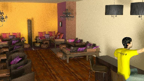 CHICHA vue d'ensemble 7 - Dining Room  - by coachdeco