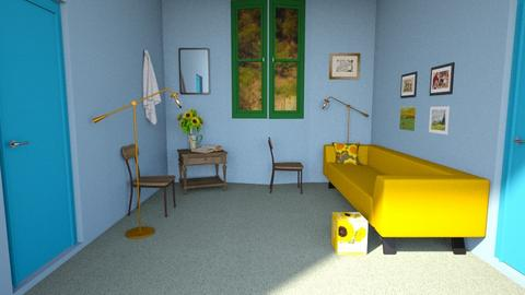 Van Gogh bedroom - Modern - Bedroom  - by popovicsonja