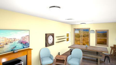 Home - Country - Living room  - by libbymontana