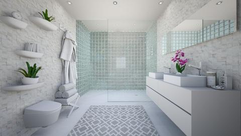 WC - Minimal - Bathroom  - by Zephyrs