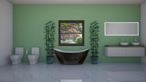 Bamboo Bathroom - by Horse_Lover_Mel