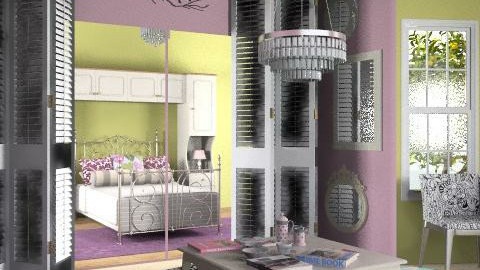 Purple and green - Eclectic - by Laurika