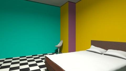 haylees room - Retro - Bedroom  - by nicayla13