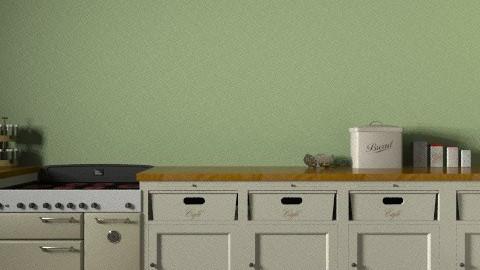 dream kitchen - Country - Kitchen  - by theakylie
