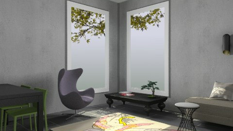 Dixon - Modern - Living room  - by Kaarina