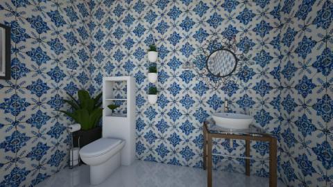 VintageArtBathroom toilet - Vintage - Bathroom  - by yaizalloriginal