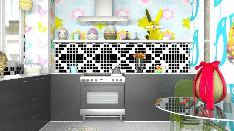 Candy Kitchen - Eclectic - Kitchen  - by Katherine100