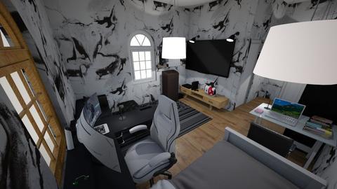Gaming bedroom 2 - Bedroom  - by nanta_gay