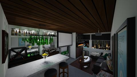 House Bar Home Theater - by AlocinB