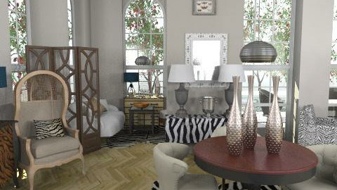 OLD HOUSE8 - Classic - Living room  - by naki1