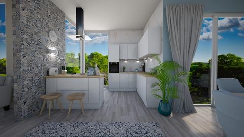 Modern countryside - Kitchen - by evelyn19