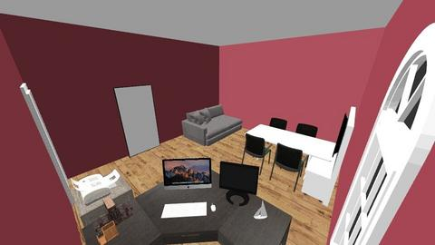 An office with more room  - Modern - Office  - by keets