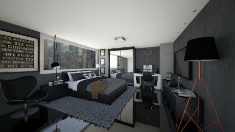 bedroom - Modern - Bedroom  - by aletamahi