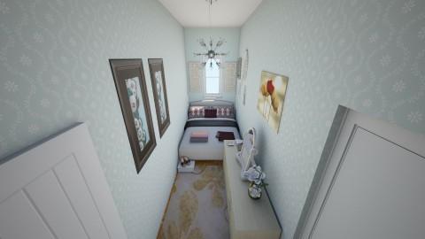 Summer guest bedroom - Eclectic - Bedroom  - by mmt_regina_nox