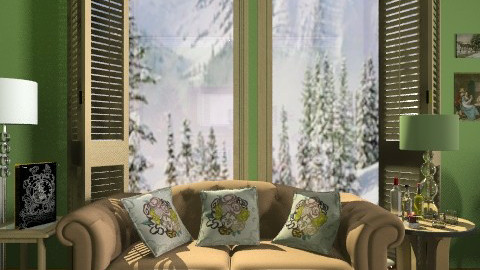 Winter.-. - Classic - Living room  - by milyca8