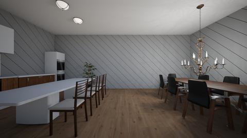 Yayx2 Dine in Kitchen - Kitchen  - by Yay x2 Design
