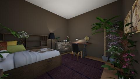 dorm room 1 - Vintage - by lennebendien