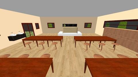 denah lab - Office  - by Azawa