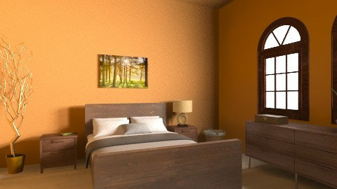 Marigold Spare bedroom  - Rustic - Bedroom  - by Emily_Foster12