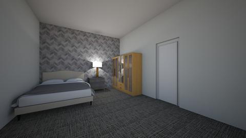 Chloe Larymore - Bedroom  - by chloe Larymore