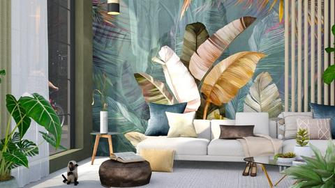 Paper Cut - Living room  - by ArtHousedeco