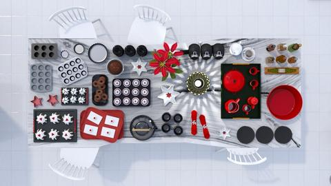 Holiday Baking - Kitchen  - by luna smith
