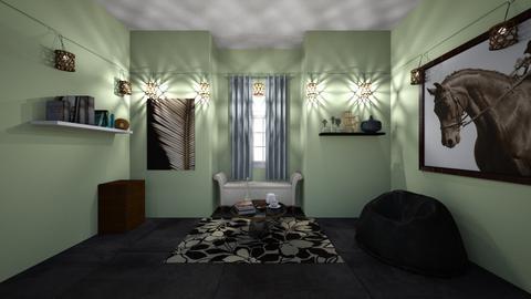 Cozy - Bedroom  - by Puppylover5673