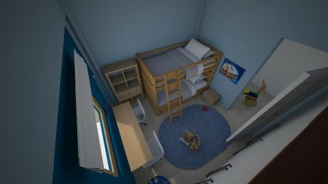 boys room 2cfg - by Georgia Perrou